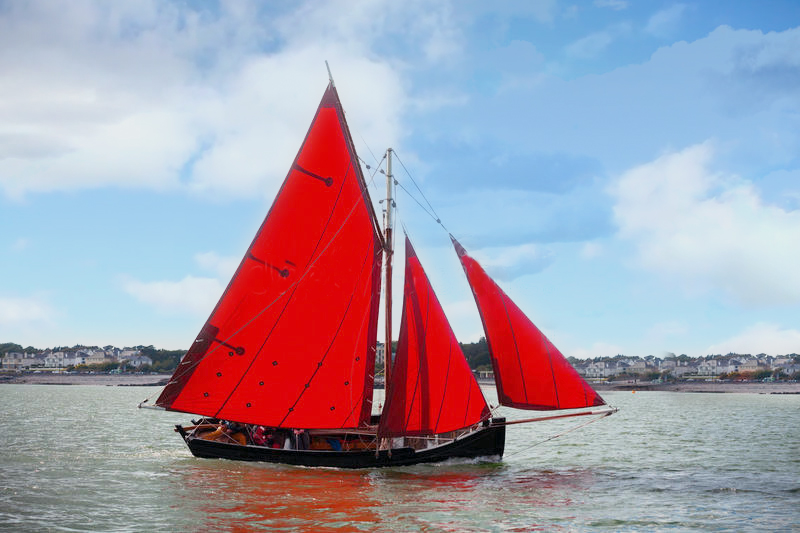 Galway Hooker - Galway Ireland. The Traditional Irish Fishing Vessel. Made in Galway, Ireland.