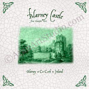 Blarney Castle – Antiquarian Tile Print