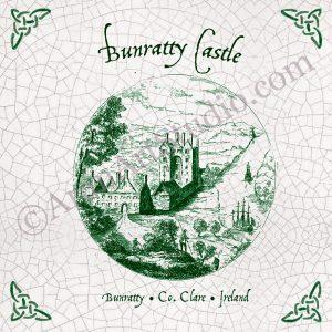 Bunratty Castle – Antiquarian Tile Print