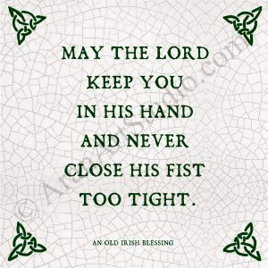 May The Lord Keep You….