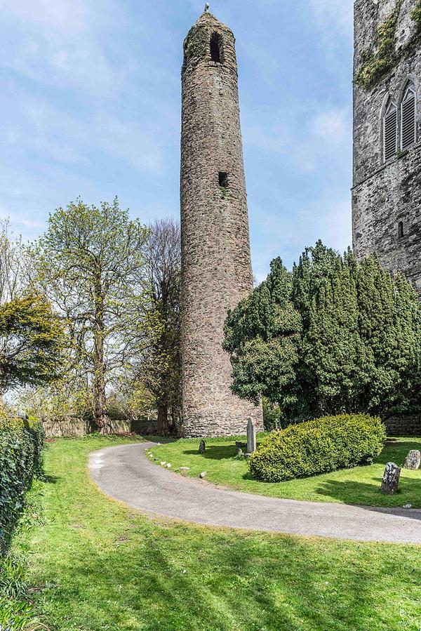 Swords Co. Dublin Round Tower - Ceramic Irish Art