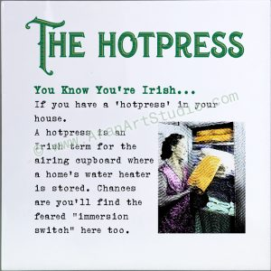 You know you're Irish… The Hotpress