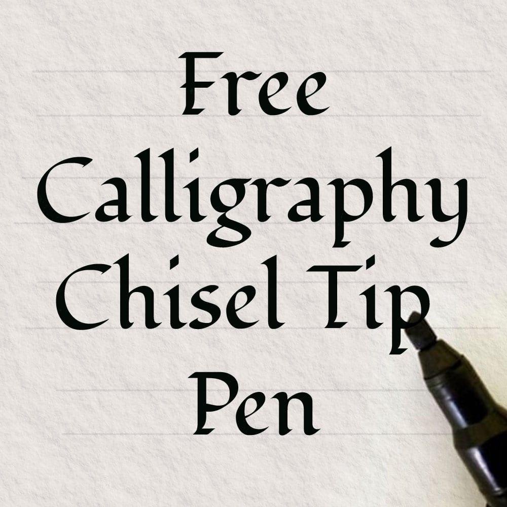 Free Calligraphy Irish Pen with Heritage Certificate.