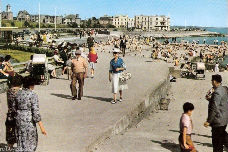 Salthill, Galway Postcard c.1950's