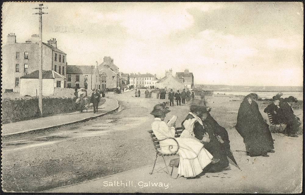 Old Salthill Postcard c.1900
