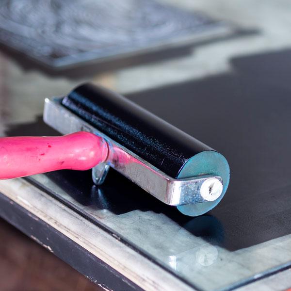 Aran Art Studio in Galway Ireland - ink Roller. Quality Prints.
