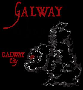 Galway Location - on west coast of Ireland. Aran Art Studio gifts.