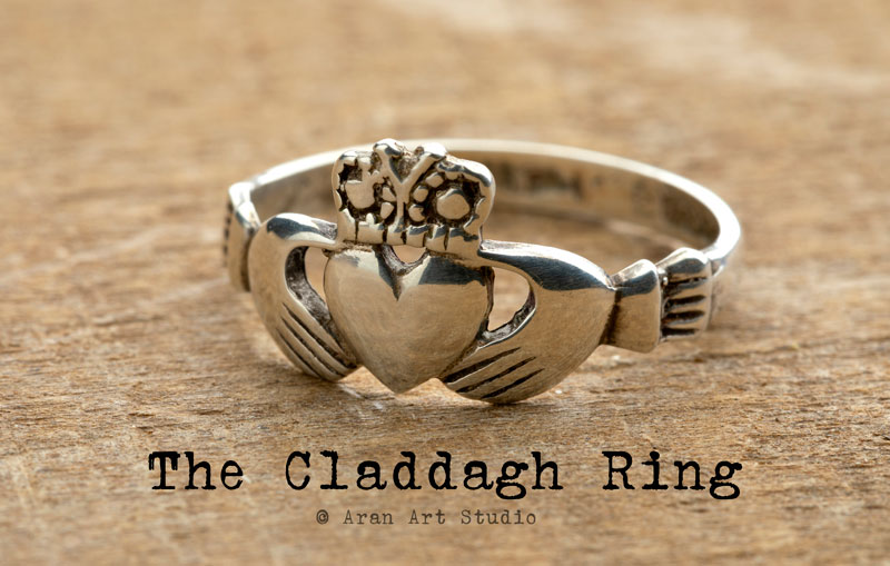 The Claddagh Ring meaning Poster Art.