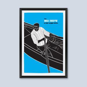 Aran Sweater Poster.
